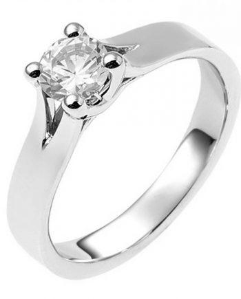 Zilveren verlovingsring