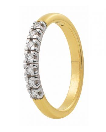 Zoekt u een geelgouden verlovingsring met zeven groeibriljanten van 0.03 ct.? Verlovingsringkopen.nl is de verlovingsringen specialist!