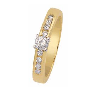 Wilt u een moderne solitaire ring kopen? Kijk bij verlovingsringkopen.nl